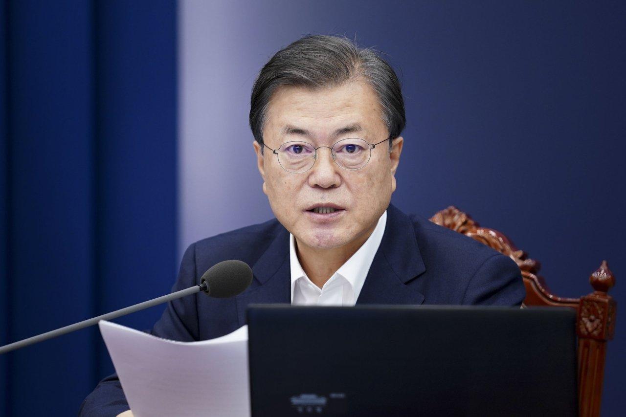 President Moon Jae-in in a file photo (Yonhap)