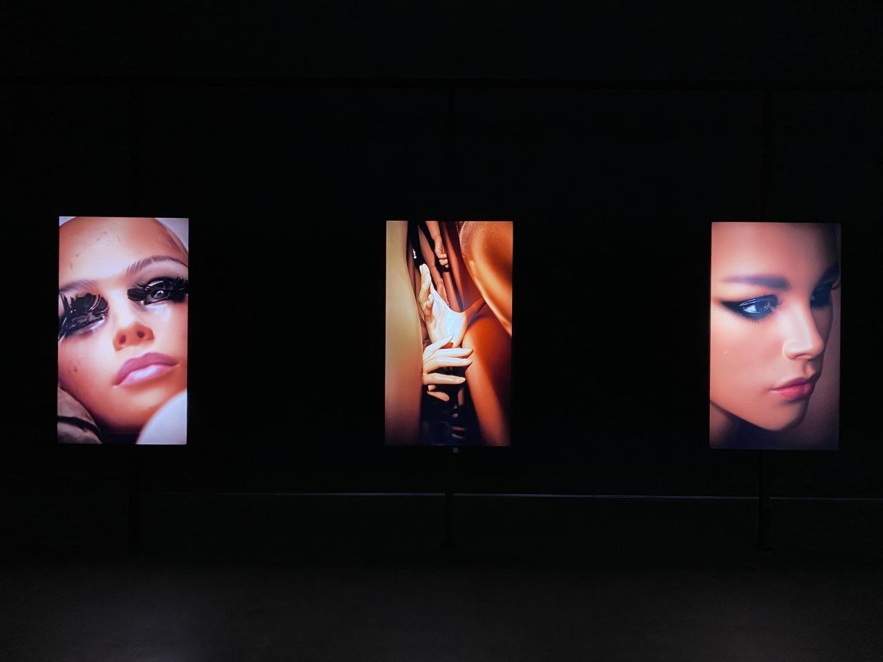 Installation views of works by visual artist Jung Yoon-suk at Korea Artist Prize 2020 (MMCA)