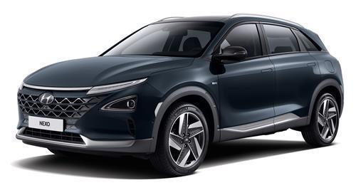 The Nexo hydrogen fuel cell electric vehicle. (Hyundai Motor Co.)