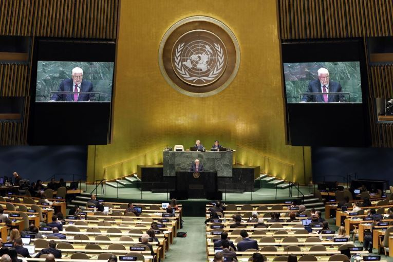 The UN General Assembly. (AP-Yonhap)