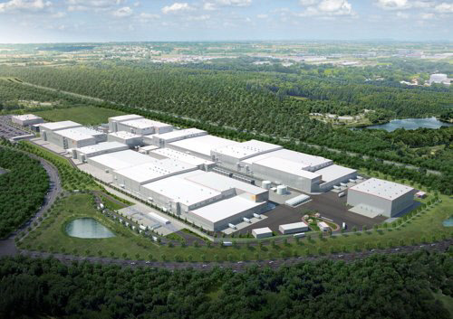 How SK Innovation's Georgia plant will look upon construction completion (SK Innovation)