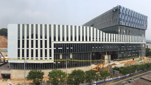 A zero-energy building in Pangyo 2nd Techno Valley (Transport Ministry)