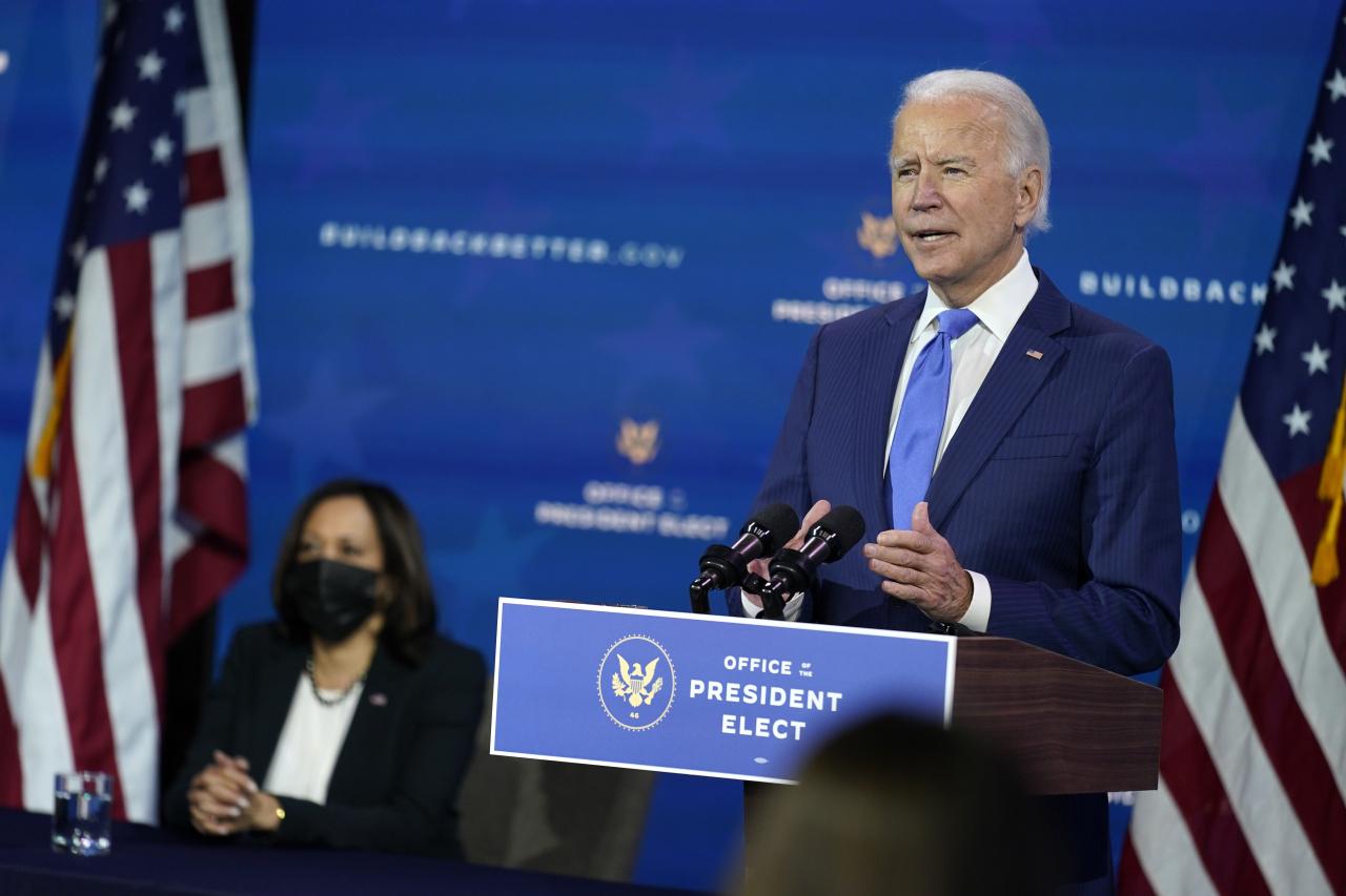 President-elect Joe Biden (AP-Yonhap)
