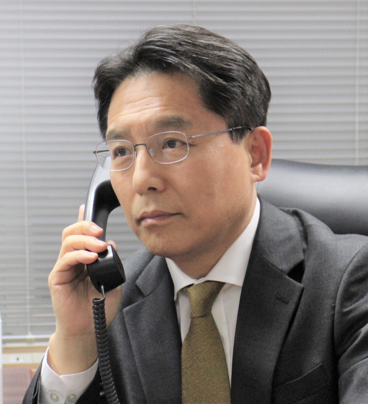 Noh Kyu-duk, South Korea`s new chief nuclear negotiator, is shown in this photo provided by the Foreign Ministry on Tuesday. (Ministry of Foreign Affairs)