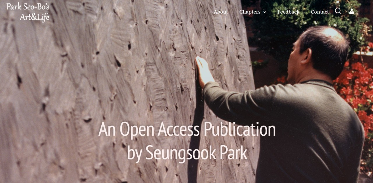 A screenshot of the open-access publication at www.parkseobo.life