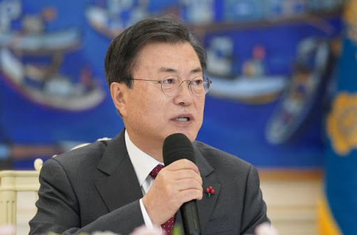 President Moon Jae-in in a file photo (Yonhap)
