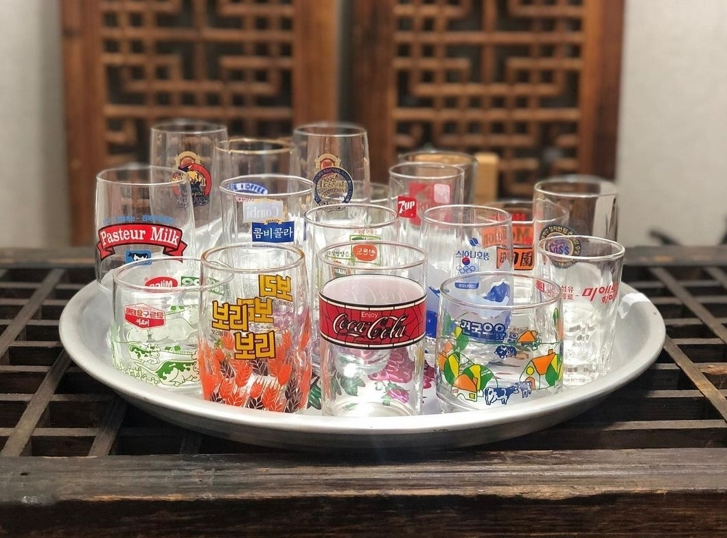 Old-fashioned glasses have become must-have collectables. (Courtesy of Baek)