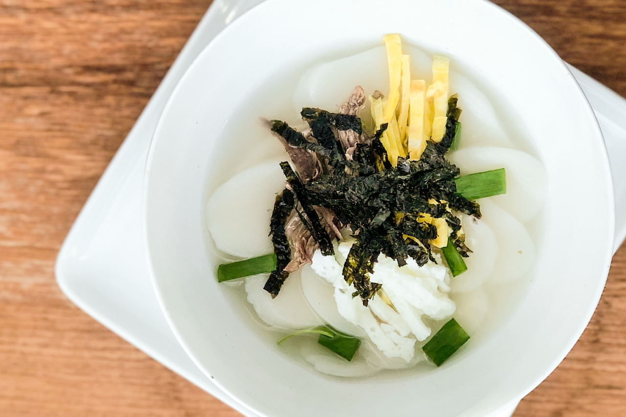 Rice Cake Soup or Tteokguk (Courtesy of Diana Kang)