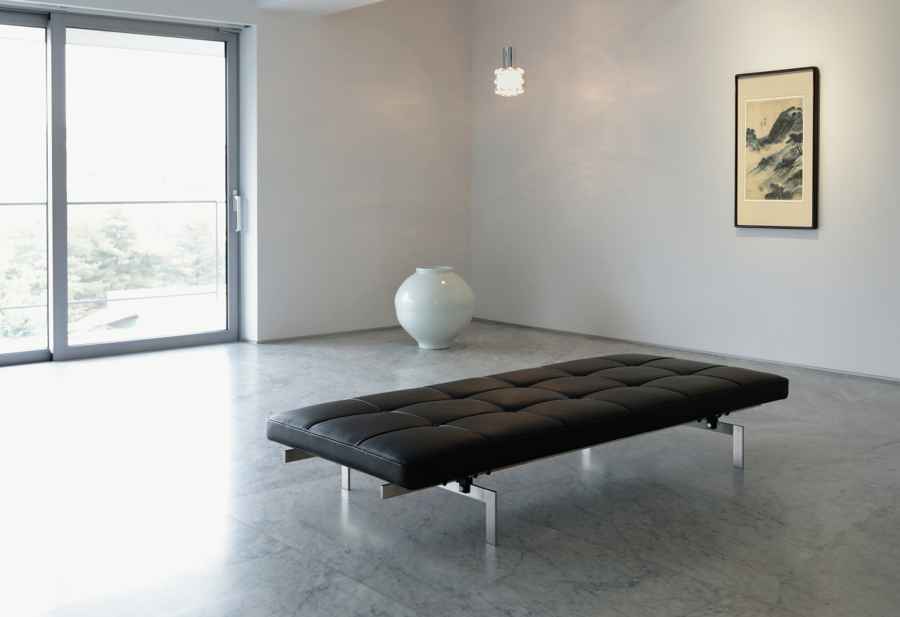 "Installation view of ""Time in Space: The Life Style"" (PKM Gallery)"