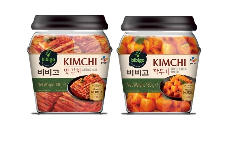 Bibigo kimchi (CJ Cheiljedang)