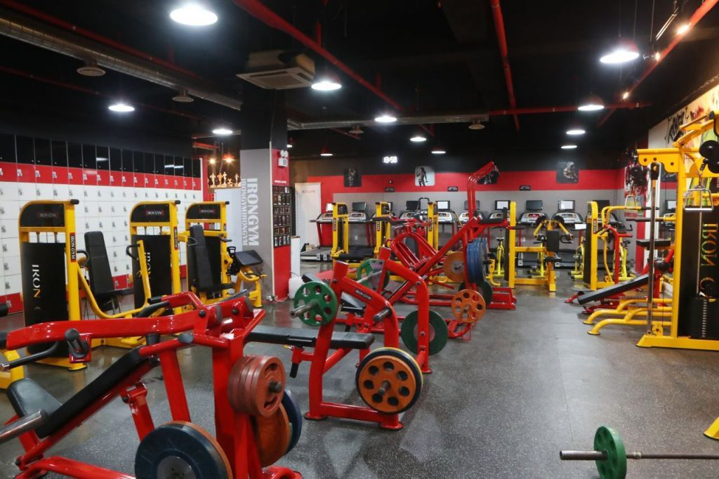 This photo shows the interior of a gym in Pocheon, 46 kilometers northeast of Seoul, on Monday. (Yonhap)