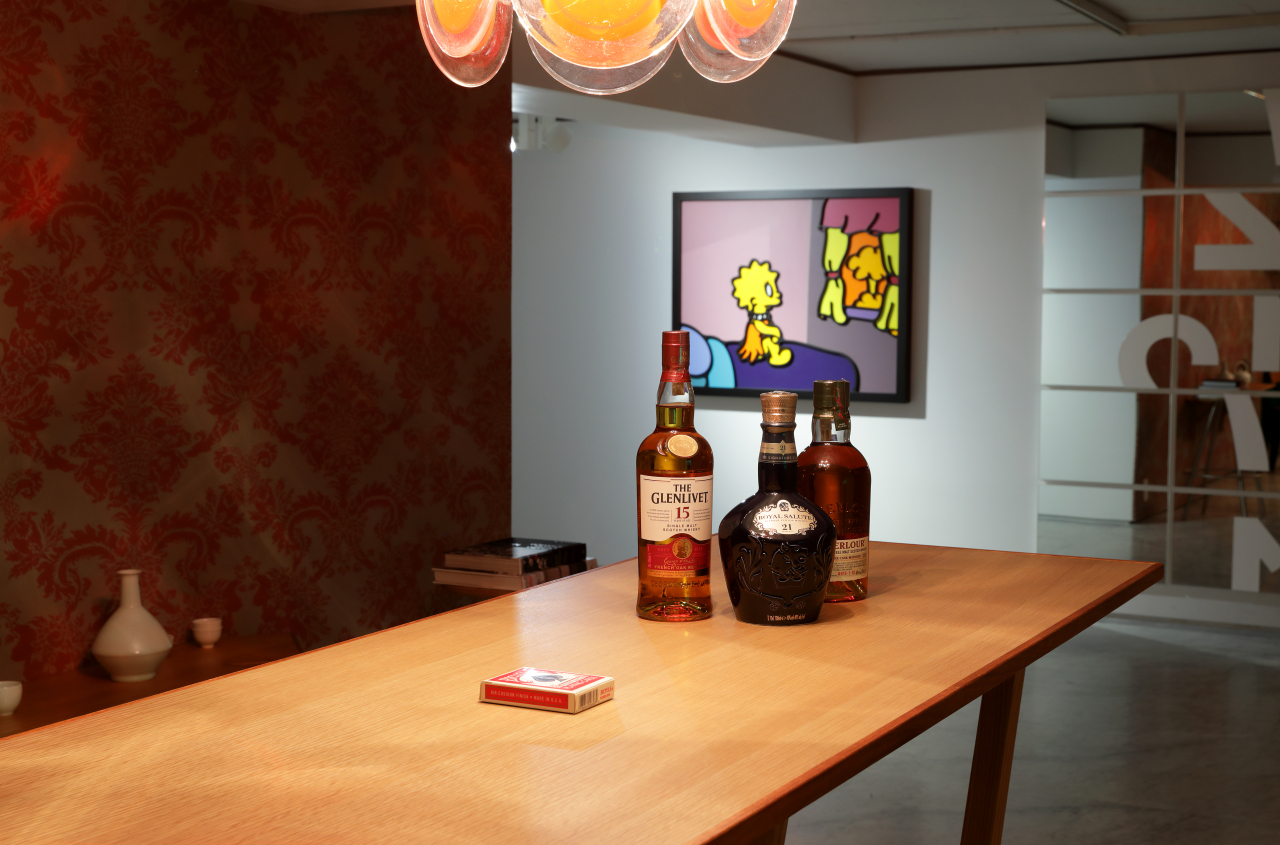 """Installation view of """"Time in Space: The Life Style"""" (PKM Gallery)"""