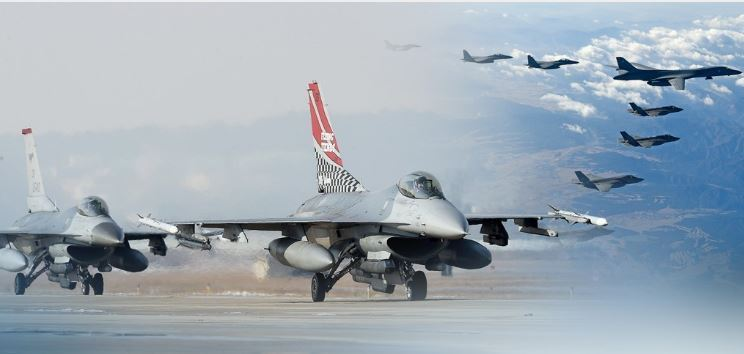 South Korea and US combined air exercise (Yonhap)