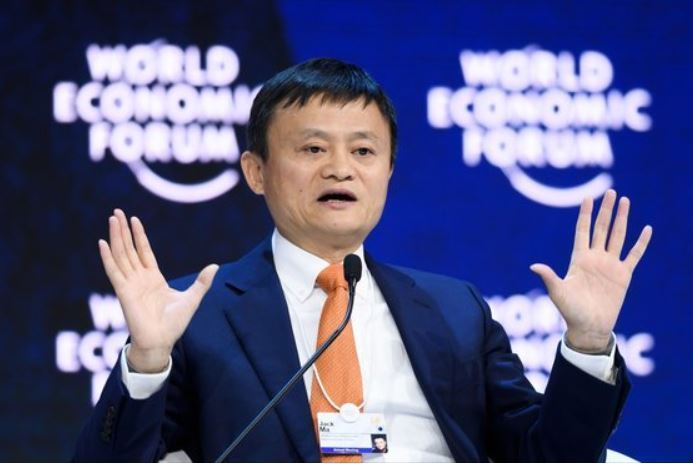 Alibaba's Jack Ma (AFP-Yonhap)