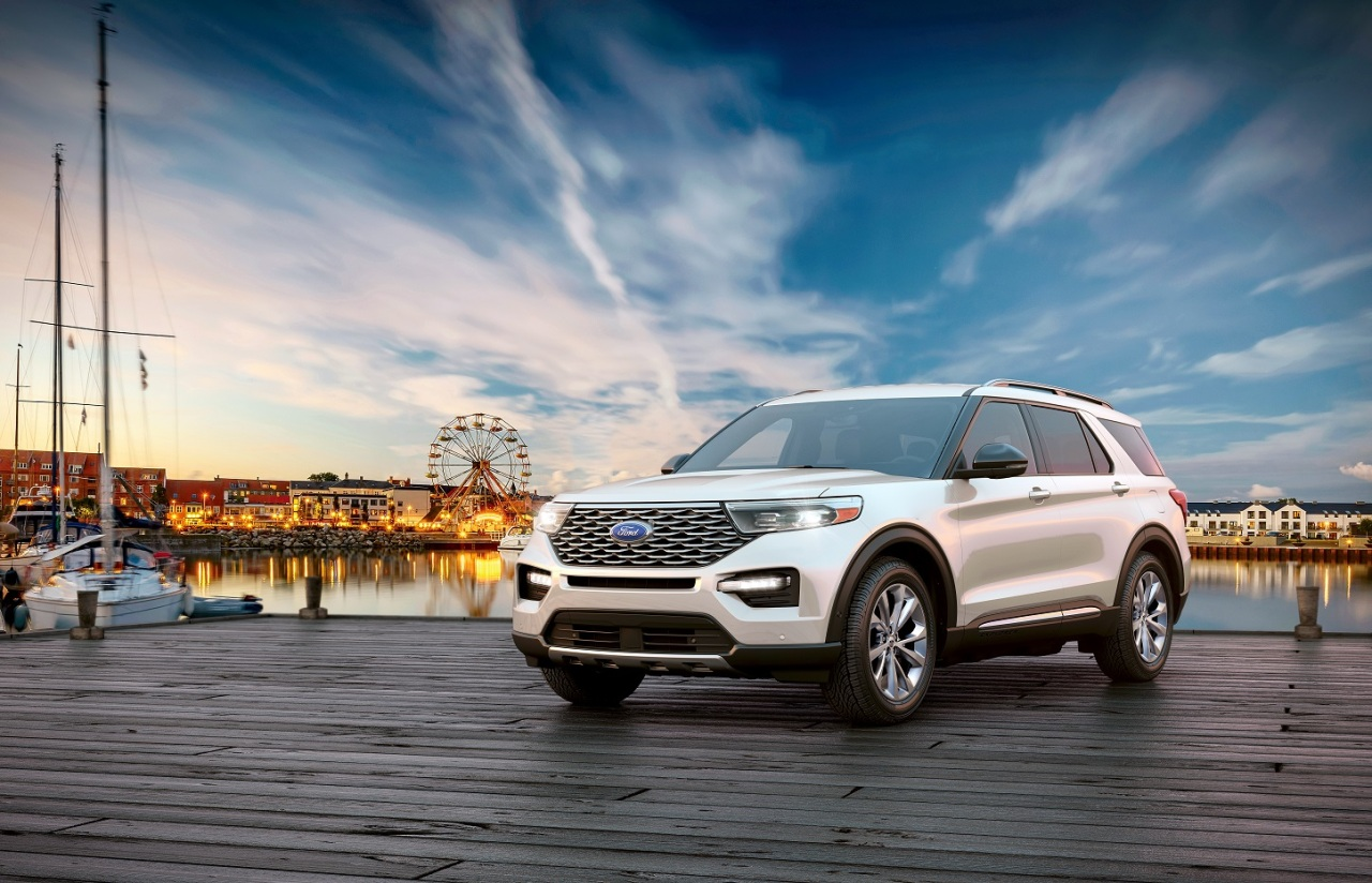 Ford Explorer Platinum (Ford Sales and Service Korea)