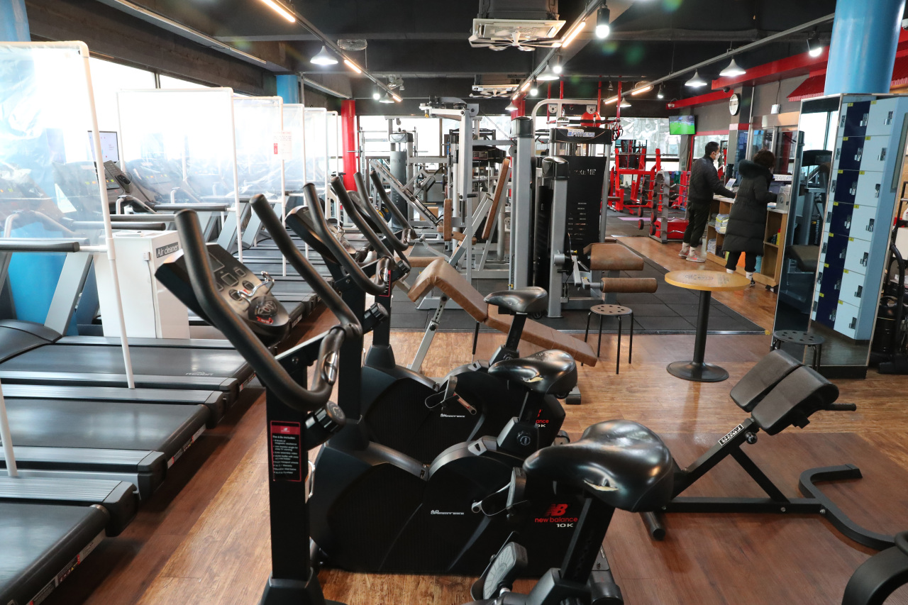 Indoor gyms in Seoul have been ordered to close until Jan. 17. (Yonhap)