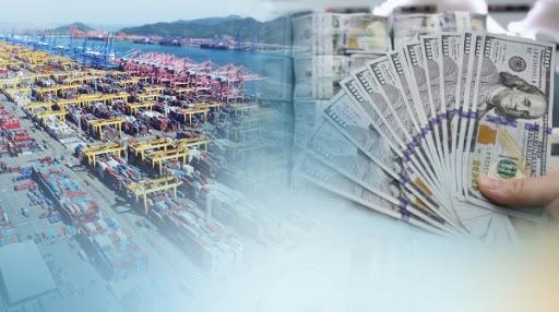 South Korea's current account surplus (Yonhap)