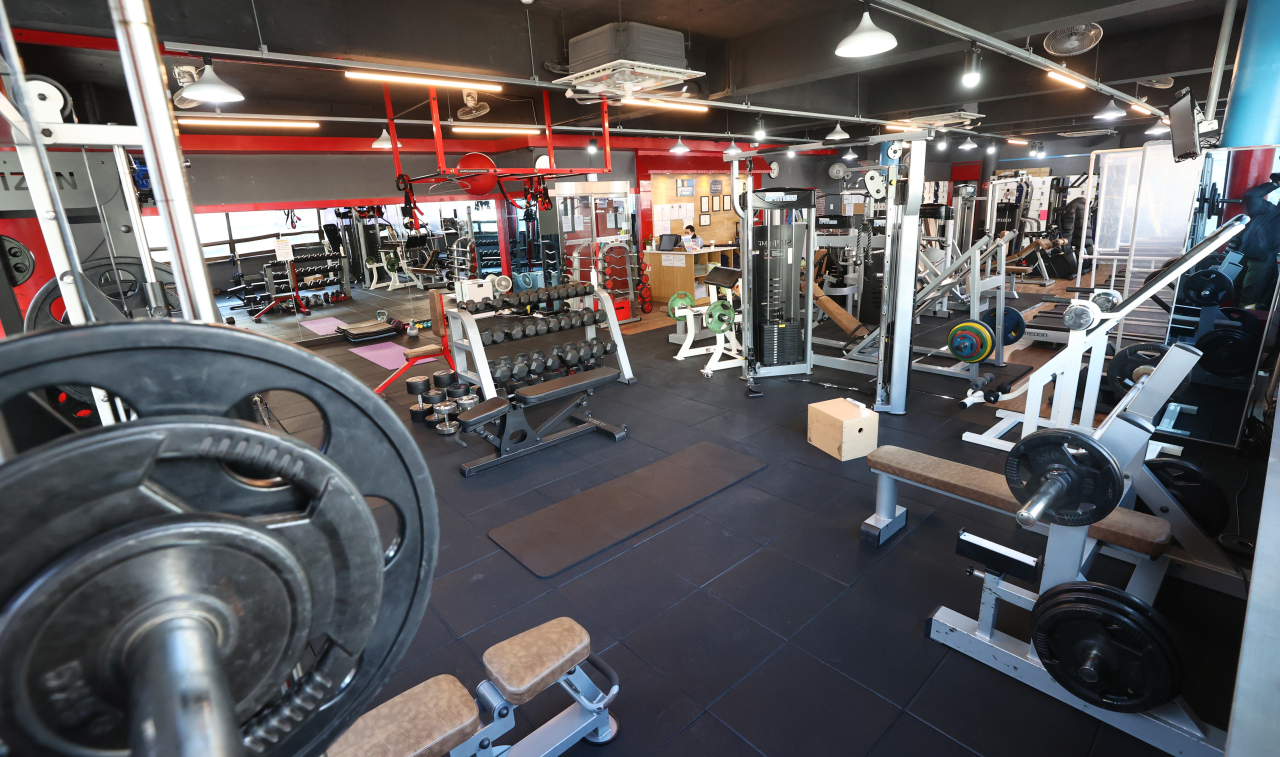 A fitness center in Mapo District, western Seoul, is void of visitors Thursday. (Yonhap)