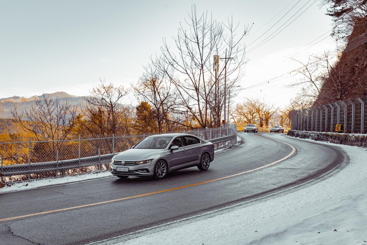 Volkswagen's Passat GT (Volkswagen Korea)
