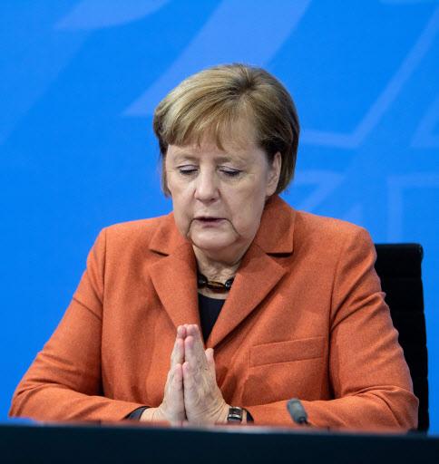 Chancellor of Germany, Angela Merkel (AFP-Yonhap)