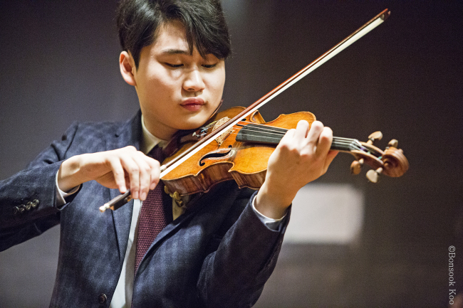 Violinist Yang In-mo (Kumho Art Hall)