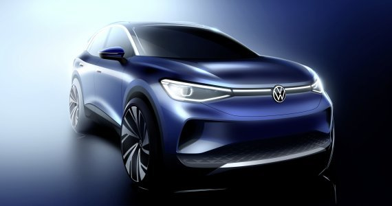 Volkswagen's first electric sport utility vehicle ID.4 (Volkswagen)
