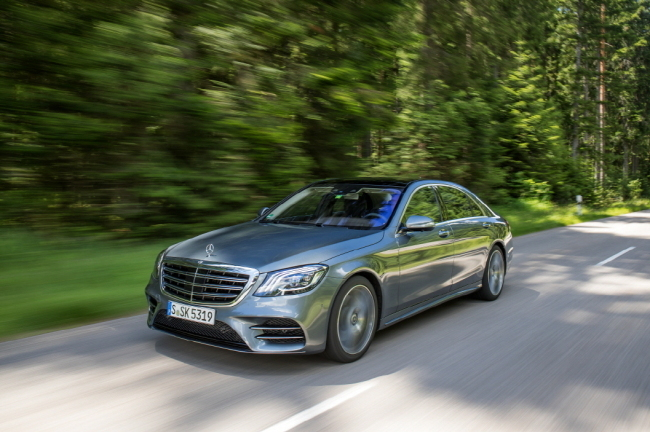 Mercedes-Benz S Class (Mercedes-Benz Korea)