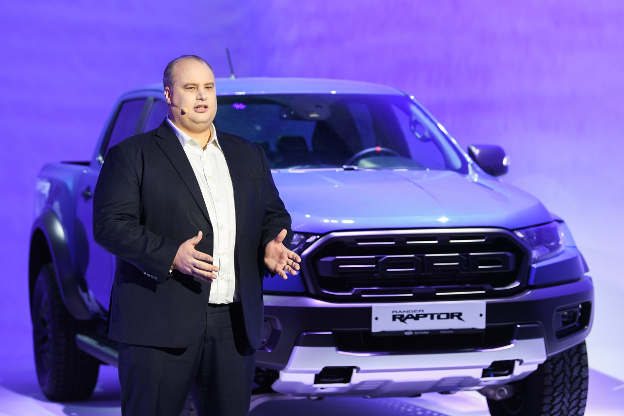 Ford Korea's Managing Director David Jeffrey (Ford Sales and Service Korea)
