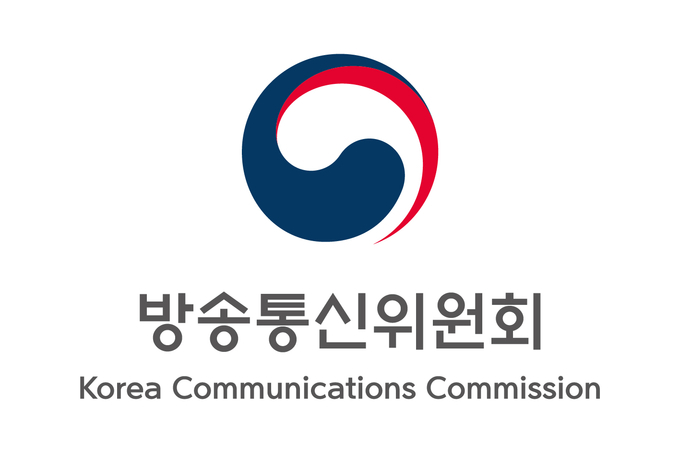 A logo of the Korea Communications Commission