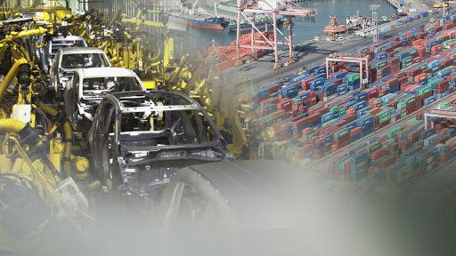 South Korea's auto exports (Yonhap)