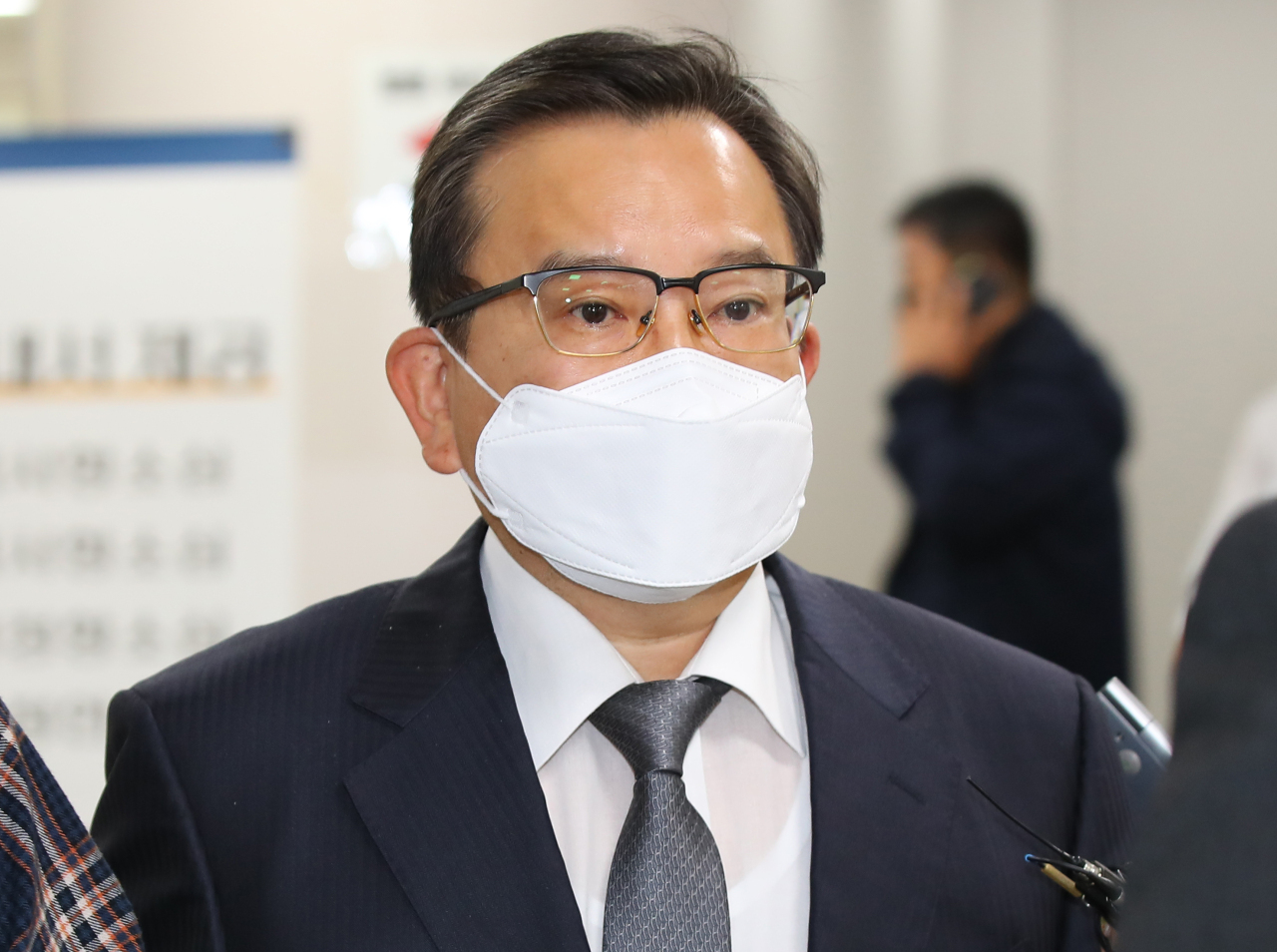 Former Vice Justice Minister Kim Hak-ui (Yonhap)