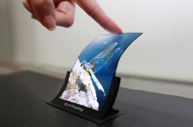 LG Display's bendable OLED display (LG Display)