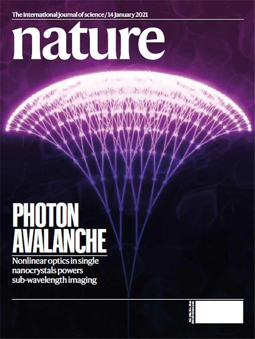 The cover of the latest edition of Nature features