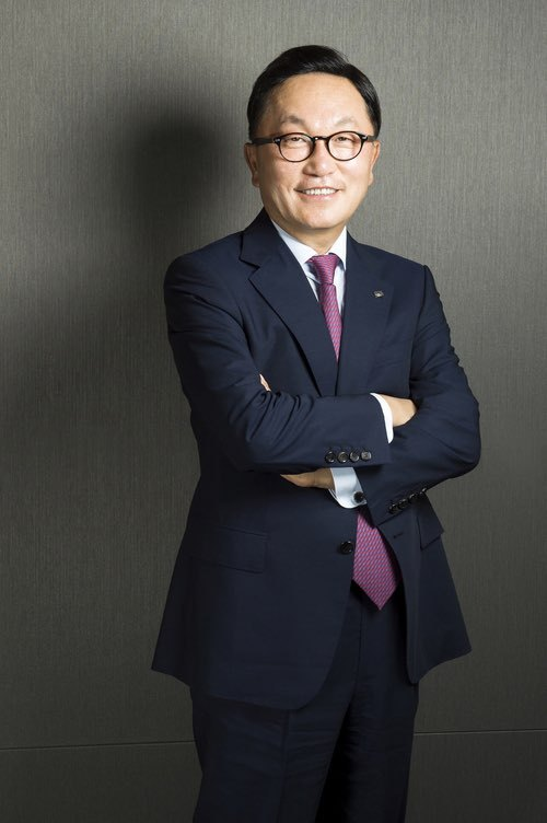 Park Hyun-joo, chariman of Mirae Asset Group (Mirae Asse Group)