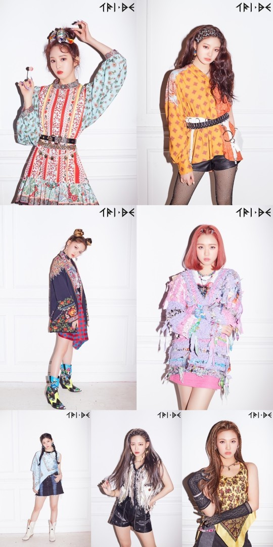 Rookie girl group Tri.be to debut in February (Universal Music)