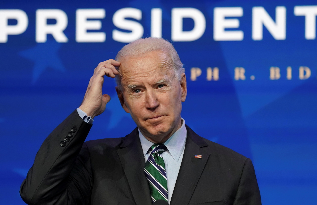 US President-elect Joe Biden. (Yonhap)