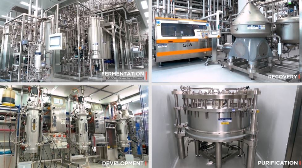 Hanmi Pharmaceutical's Bio Plant manufacturing and development facilities