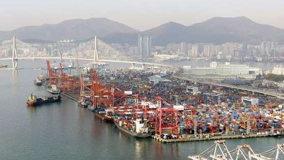 South Korean SMEs' exports (Yonhap)