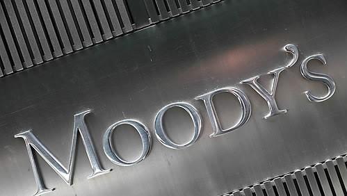 The logo of US credit rating agency Moody's Investors Service (AP-Yonhap)