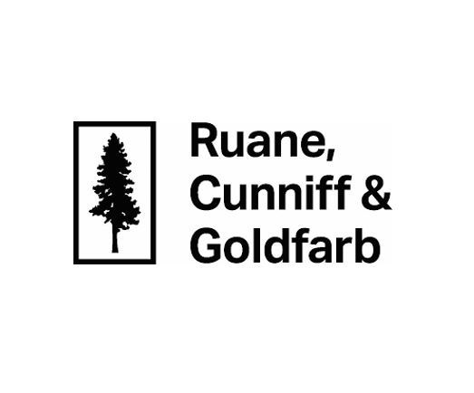 A logo of Ruane Cunniff & Goldfarb