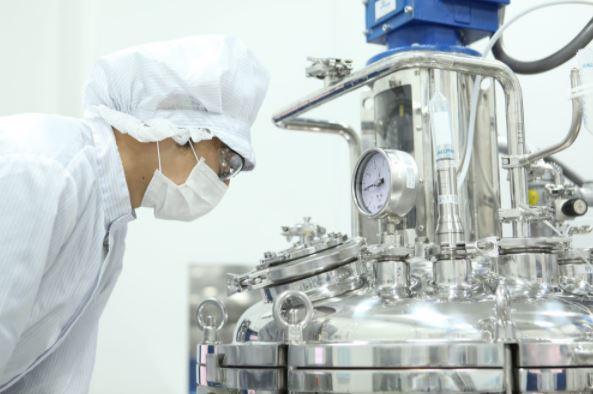 A GC Pharma researcher (GC Pharma)
