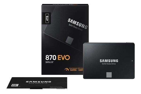 Samsung Electronics' 870 EVO SSD series (Samsung Electronics)