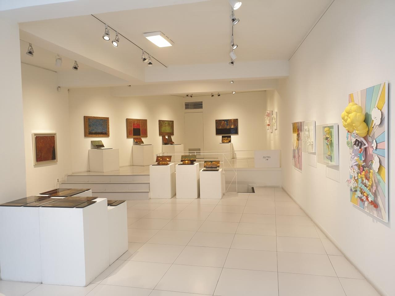 "Installation view of ""Modern Postmodern, Postmodern Post"" (Courtesy of Jeong Kwang-bok)"