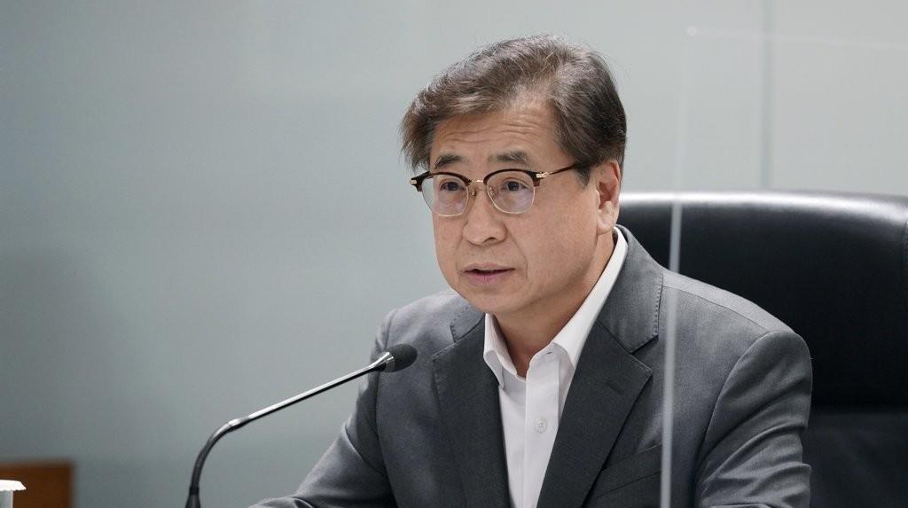 Suh Hoon, director of national security at Cheong Wa Dae (Yonhap)