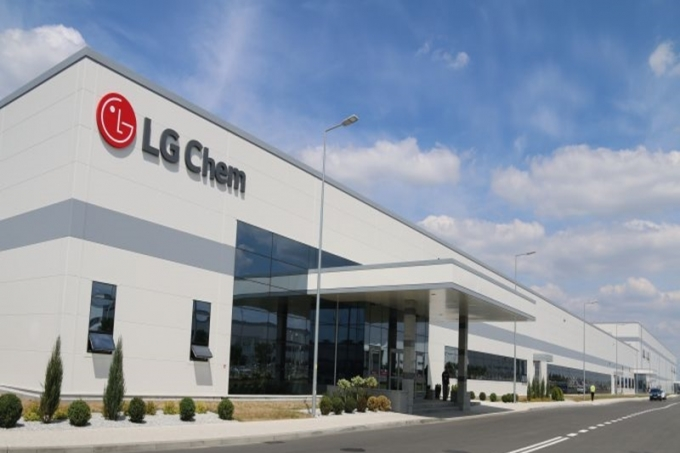 An exterior view of LG Chem's EV battery plant located in Wroclaw, southwestern Poland (LG Chem)