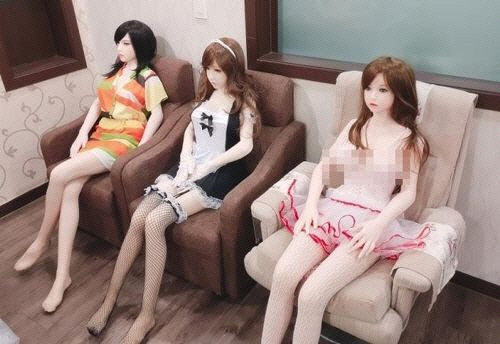 Real dolls for sale (Yonhap)