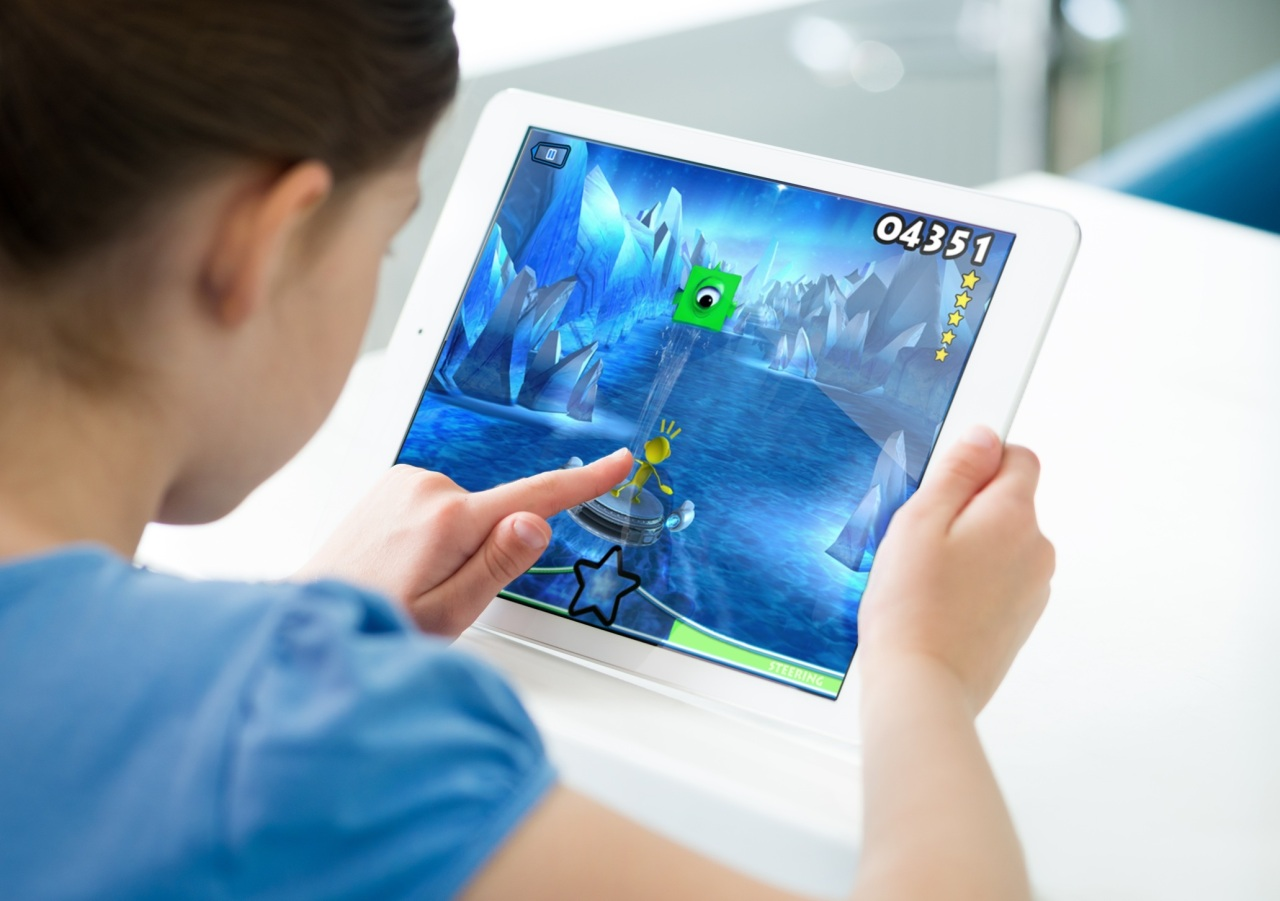 A child plays EndeavoRx, an app designed to treat children aged 8 to 12 with attention deficit hyperactivity disorder. (Akili Interactive)