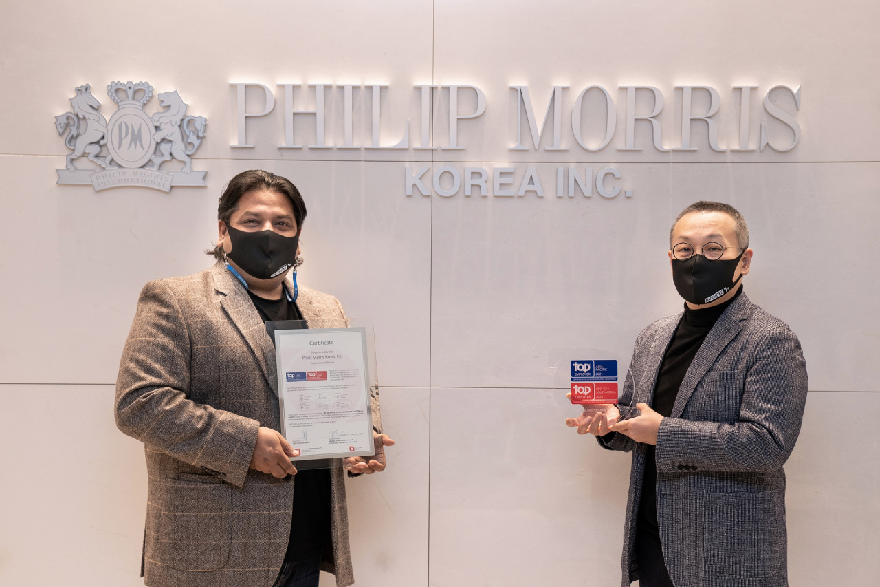 Praveen Upadhyay, Director of People & Culture in Korea (left), Young-jay Paik, Managing Director of PMK. (PMK)