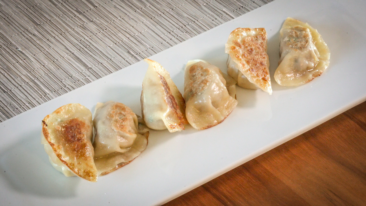 Meat mandu (Courtesy of Diana Kang)