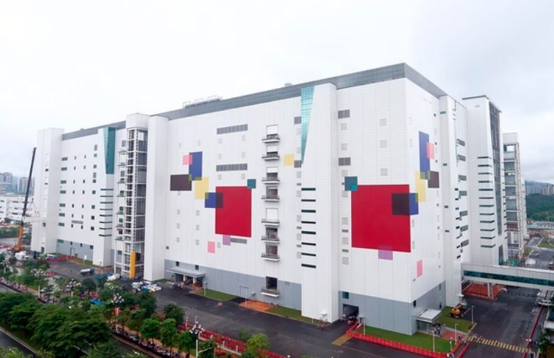 8.5 generation OLED plant in Guangzhou, China (LG Display)